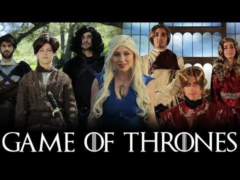 GAME OF THRONES MEDLEY (Monster, Roar, Demons, & Titanium Parody) klip izle