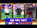 Can you spot the ODD ONE OUT? Germany vs France 0-2 (Euro 201...