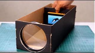How to Make a HD Projector at home in 5 minute | Easiest Digital Projectors | Tech Toyz Videos