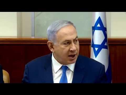 דברי ראש הממשלה בנימין נתניהו בפתח ישיבת הממשלה