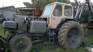#159. Tractor Excavator Tuning [RUSSIAN CARS]