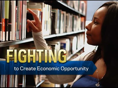 Fighting to Create Economic Opportunity