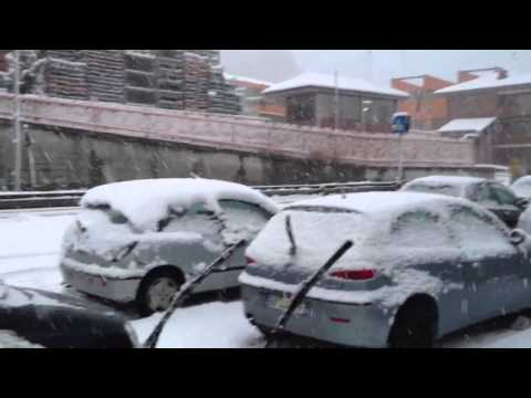 Neve a Sparone . Febbraio 2013
