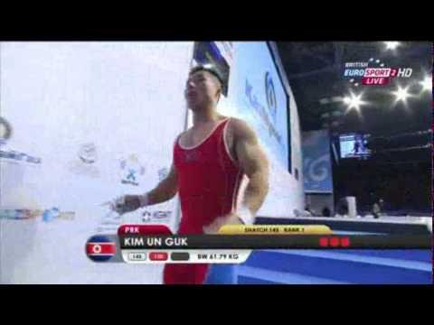 2014 World Weightlifting Championships 62kg Men (English)