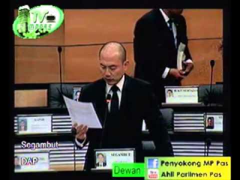 Usul 18 (1) - MP DAP Segambut mengenai Pencabulan Hak Asasi