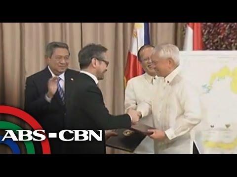 PH, Indonesia maritime borders agreement