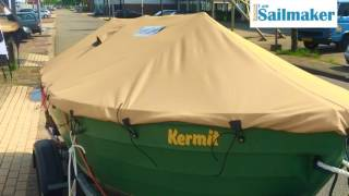 Iam Sailmaker DIY boatcover: dinghy, tender-sloop, open boat fish boat and more...