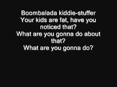 Tim Minchin | Fat Children Lyrics