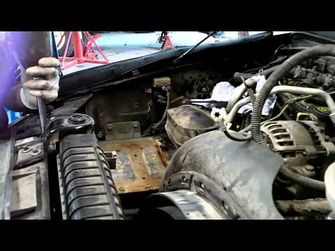 6.0 Liter Ford Powerstroke Cab Removal for Head Gaskets