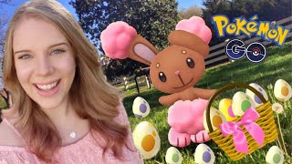 POKÉMON GO EASTER EVENT LIVE STREAM! Hunting Shiny Buneary + Hatching Eggs!
