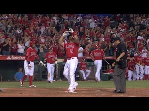 TB@LAA: Pujols belts two home runs vs. the Rays