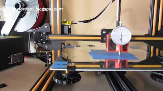 Easy 3D Printer Bed Leveling with Cheap Dial Test Indicator. CR-10