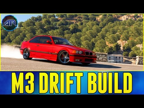 Forza Horizon 2 : BMW M3 E36 DRIFT BUILD!!! (Mountain Drifting, 1080p)