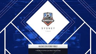 HaloWC 2018 Sydney Finals – Day 1