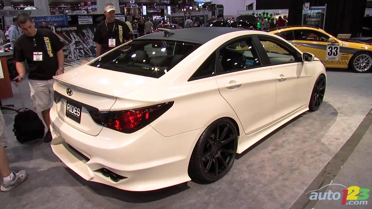 Rides Mag Hyundai Sonata Turbo At Sema 2010 Youtube