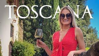 Toscana de carro - Greve In Chianti, Montalcino - vlog de viagem na Italia