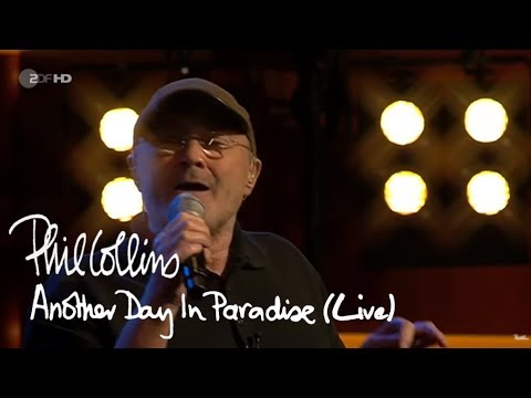 Phil Collins - Another Day In Paradise (Live)