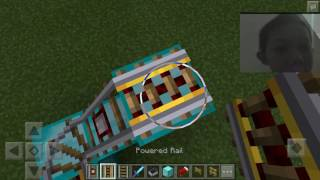 Cara Membuat Roller Coaster Episode #2 (Minecraft Pocket Edition)