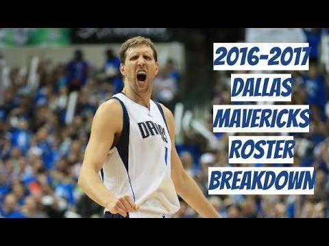2016-2017 Dallas Mavericks Roster Breakdown: NBA 2k17 Rosters