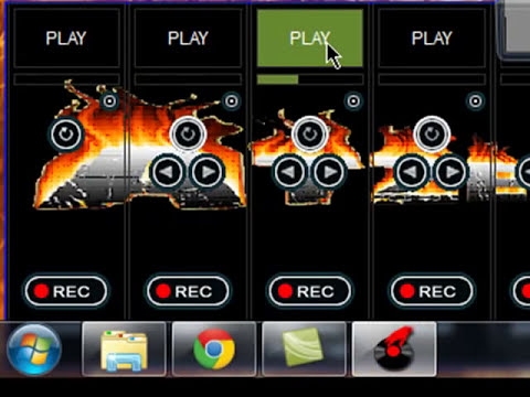 Como descargar skin personalizado para  VirtualDJ 7 (4 Decks) Skin ONFIRE  MUY BUENO!!!!!