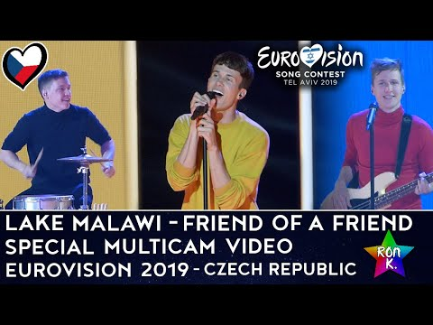 "Lake Malawi - ""Friend of a Friend"" - Special Multicam video - Eurovision 2019 (Czech Republic)"