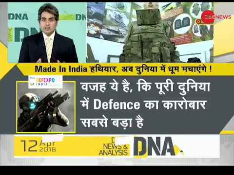 DNA: DefExpo 2018 drives Make in India to a different level