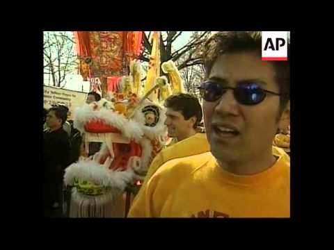 USA: CHINESE NEW YEAR CELEBRATIONS