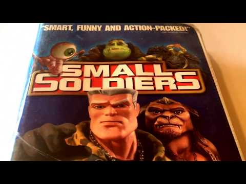 Small Soldiers * Animated Cartoon * VHS Movie Collection