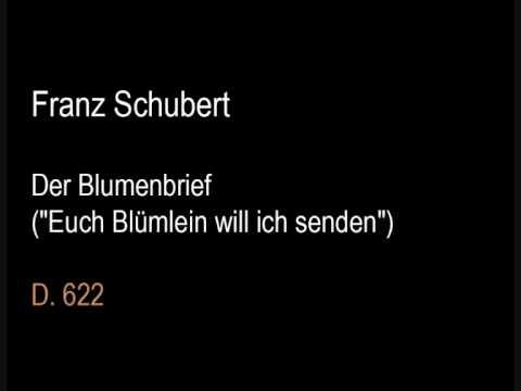 Шуберт Франц - Der Blumenbrief