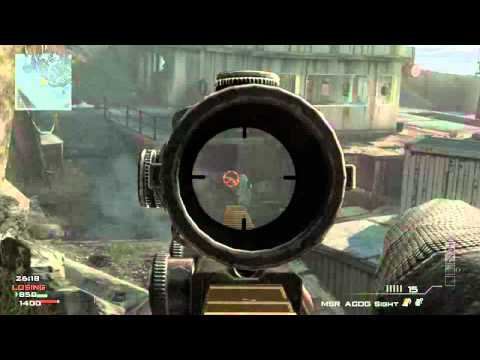 mw3 quick snipe