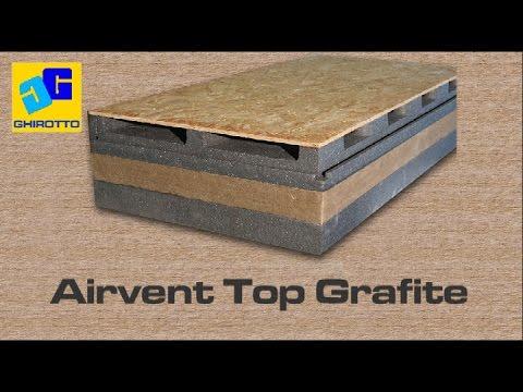 TETTO VENTILATO AREGOLA D'ARTE AIRVENT TOP GRAFITE