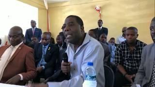 VIDEO: Haiti - Ansyen Premye Minis Enex Jean Charles te prevwa Jovenel Moise ak Jack Guy Lafontant tap echwe