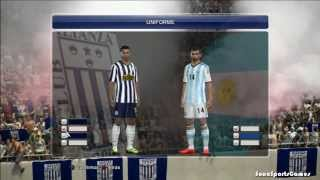 Parche Copa movistar 2014 v4 Pes 2014 Ps3 Compatible con y sin world challenge