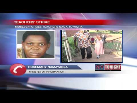 No Money: Museveni tells off teachers over 20% pay increment