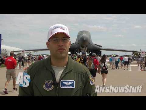 Meet Major Hansel Rabell, B-1B Lancer instructor pilot with the 7th Bomb Wing at Dyess AFB in Texas. His crew performed flybys during the Monday airshow at EAA AirVenture 2017, then put the...