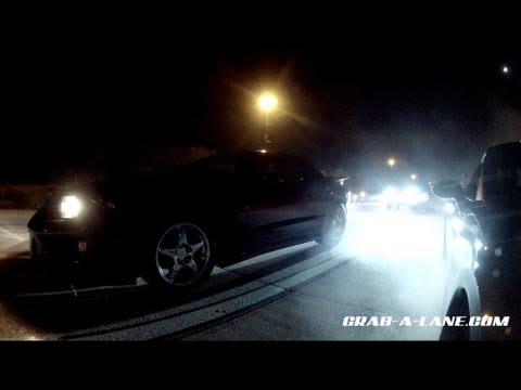 Turbo Mustang vs H/C/I LS3 Vette, 415ci Fbody vs. Nitrous C6, AMG, ZX1