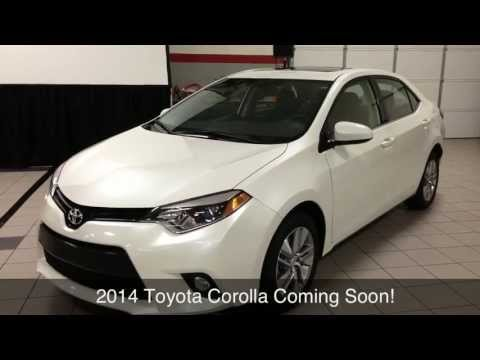 2014 Toyota Corolla Toyota of Plano Proud to Serve Dallas/Fort Worth Metroplex, TX All New!