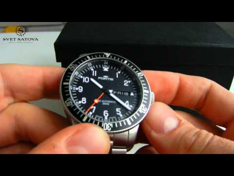 Fortis B-42 Official Cosmonauts - Video recenzija