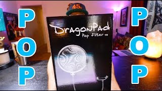 DragonPad Pop Filter Unboxing