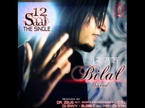 Bilal Saeed - 12 saal Bass Boosted Mix With Lyrics