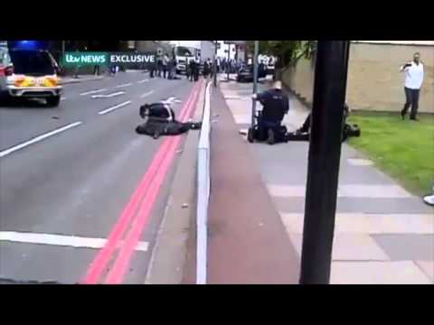 Rawfootage of Woolwich Attack