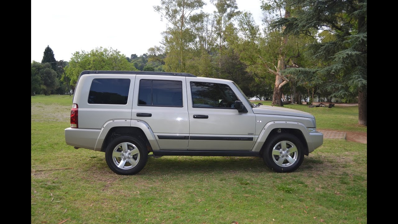 2008 jeep commander 3 0 extreme sport 2732 youtube