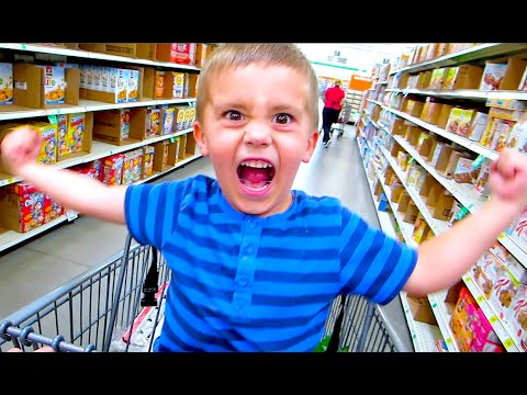 SHOPPING STORE TANTRUMS!
