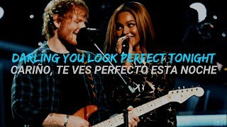 Perfect Duet Ed Sheeran With Beyoncé Ingles Español