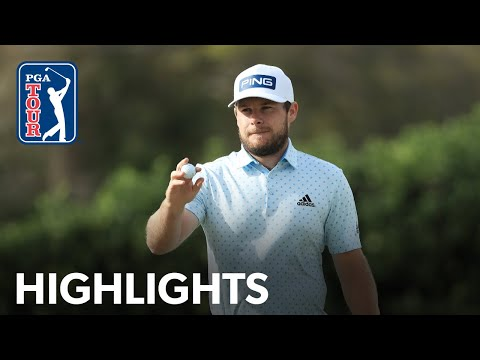 Tyrrell Hatton's Round 4 highlights from Arnold Palmer 2020