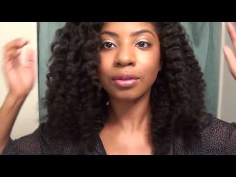 Two-Strand Flat Twist-Out  Camille Rose Naturals Products