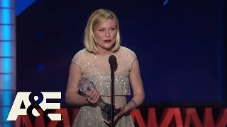 Kirsten Dunst Wins Best Actress in a Limited Series | 2016 Critics' Choice Awards | A&E
