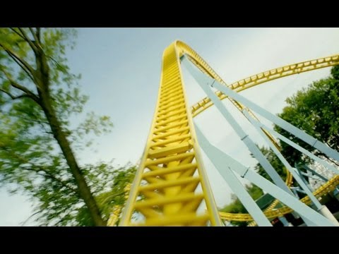 Skyrush Front Seat POV *REAL AUDIO* Hersheypark 2012 Roller Coaster 1080p HD Sky Rush