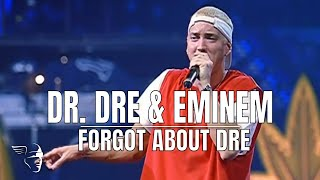 Клип Dr. Dre - Forgot About Dre ft. Eminem (live)