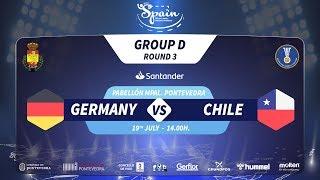 #Handtastic | PR - Group D | Germany : Chile